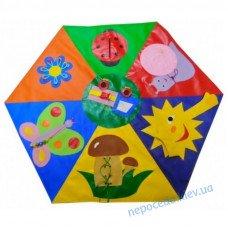 Детский дидактический коврик Полянка