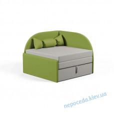 Детский маленький диванчик Малютка лайм в детскую