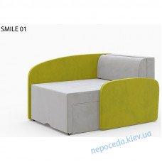 Диван кресло детское SMILE салатовый