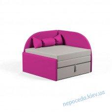 Детский мини-диванчик Малютка розовый