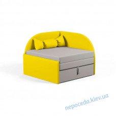 Маленький диванчик Малютка желтый