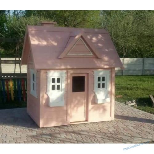 Деревянный игровой домик для детей Элли
