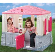 Будиночок дитячий Neat and Tidy для вулиці (рожевий)
