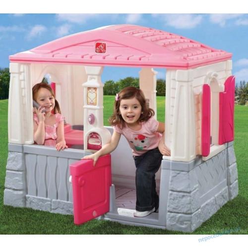 Домик детский Neat and Tidy для улицы (розовый)