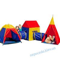 Детская игровая палатка 5в1 с тоннелем