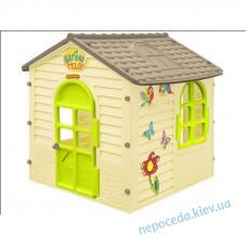 Дитячий ігровий садовий будиночок Лісовий оливковий