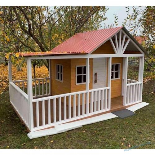 Детский домик деревянный на улицу