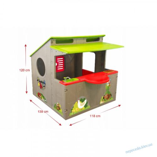 """Игровой домик для детей  из пластика """"Мастер шеф"""""""