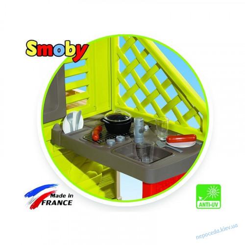 Детский игровой домик Smoby с летней кухней