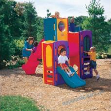 Игровой детский комплекс - НЕБОСКРЕБ из пластика