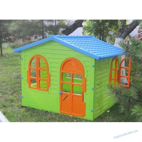 Игровой домик XL из пластика детский Лесной