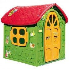 Дитячий ігровий будиночок із пластику Dorex (зелений)