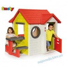 """Игровой детский домик со столом """"Мой дом"""""""