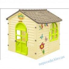 Детский игровой садовый домик Лесной оливковый