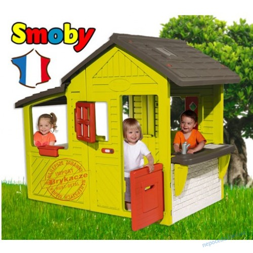 Игровой домик для детей с террасой Bell