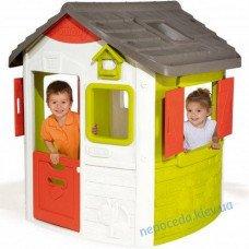 Игровой домик Smoby My House с замком и звонком