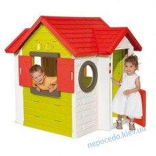 Игровой домик Smoby 810402 My House с замком и звонком