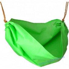 Гамак Детский в виде качели Енот зеленый