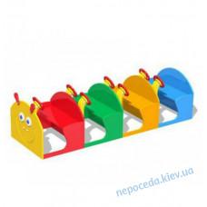 Детский игровой элемент Гусеница на детскую площадку