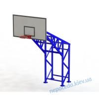Баскетбольная стойка на 4 опорах