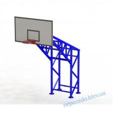 Баскетбольна стійка на 4 опорах