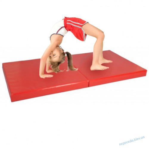 Мат гимнастический складной 2000*1000мм детский