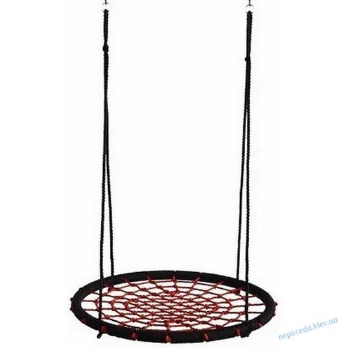 Качели Гнездо Аиста Lux 120 см, красный