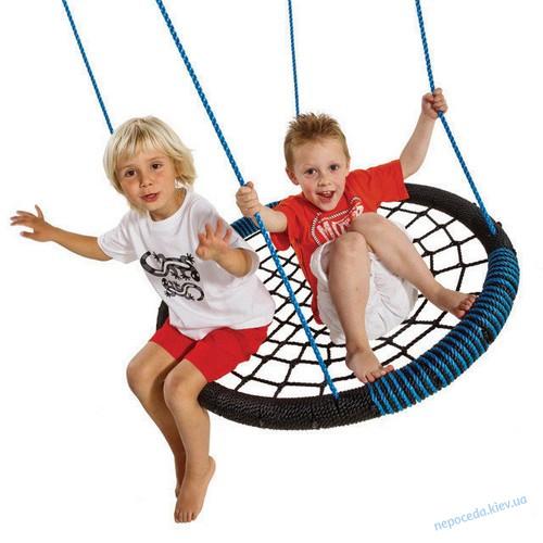 Детские качели-гнездо OVAL 108x83 см