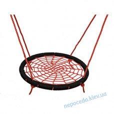 Детские качели Гнездо аиста 100 см красные