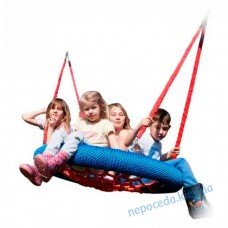 Прочные Качели Гнездо аиста 120 см Just Fun коммерческое для общественных площадок