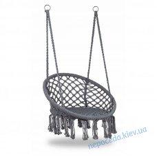 Подвесное кресло-качалка L-151 (серый)