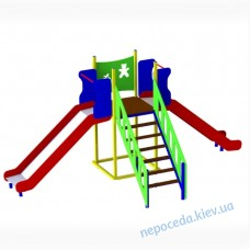"""Горки """"Детский сад"""" для игровой площадки на улицу"""