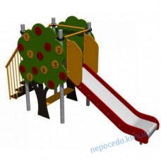 """Гірка для дітей """"Яблучний сад"""" (мала)"""