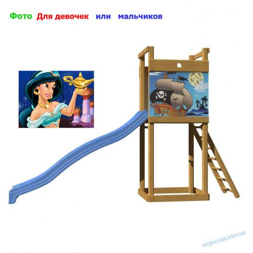 """Горка для дачи """"Забава-5"""""""