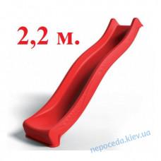 Горка 220см в виде спуска пластикового