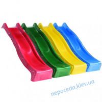 Горка пластиковая (спуск) 220см