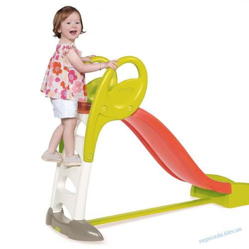 Детская горка Smoby с водным эффектом 150 см
