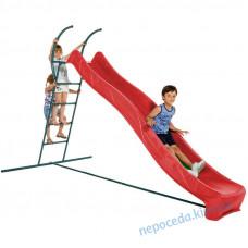 Детская горка для улицы 3 м со ступеньками