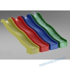 Красная горка (спуск) пластиковая 3м