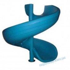 Спуск спиральный высокий (2м) пластиковый
