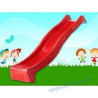 Горка спуск для детей 2,2 метровая пластиковая