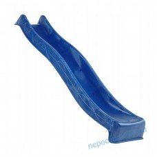 Пластиковая Горка для спуска 3 м Синяя