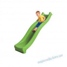 Горка для детской площадки 2,2 м Yulvo Салатовая