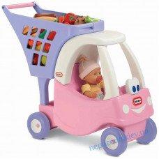 Тележка для покупок Cosy Coupe Little Tikes розовая