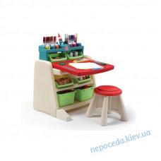 """Дитячий стіл зі стільцем і дошкою для творчості """"Flip and Doodle"""""""