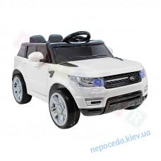 Детский электромобиль Cabrio Runner двухместный + кожаные сиденья