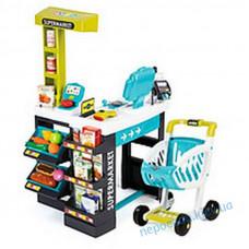 Супермаркет игровой детский с тележкой