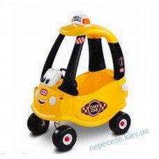 Машинка самоходная Такси, желтый