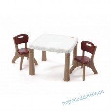 Набор: стол и 2 стула Kitchen table and chairs