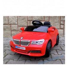 Электромобиль Cabrio B4 красный